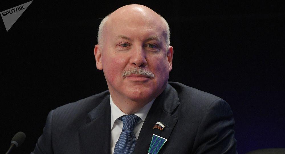 Przewodniczący Komitetu Rady Federacji Federacji Rosyjskiej ds. Polityki Gospodarczej Dmitrij Mieziencew