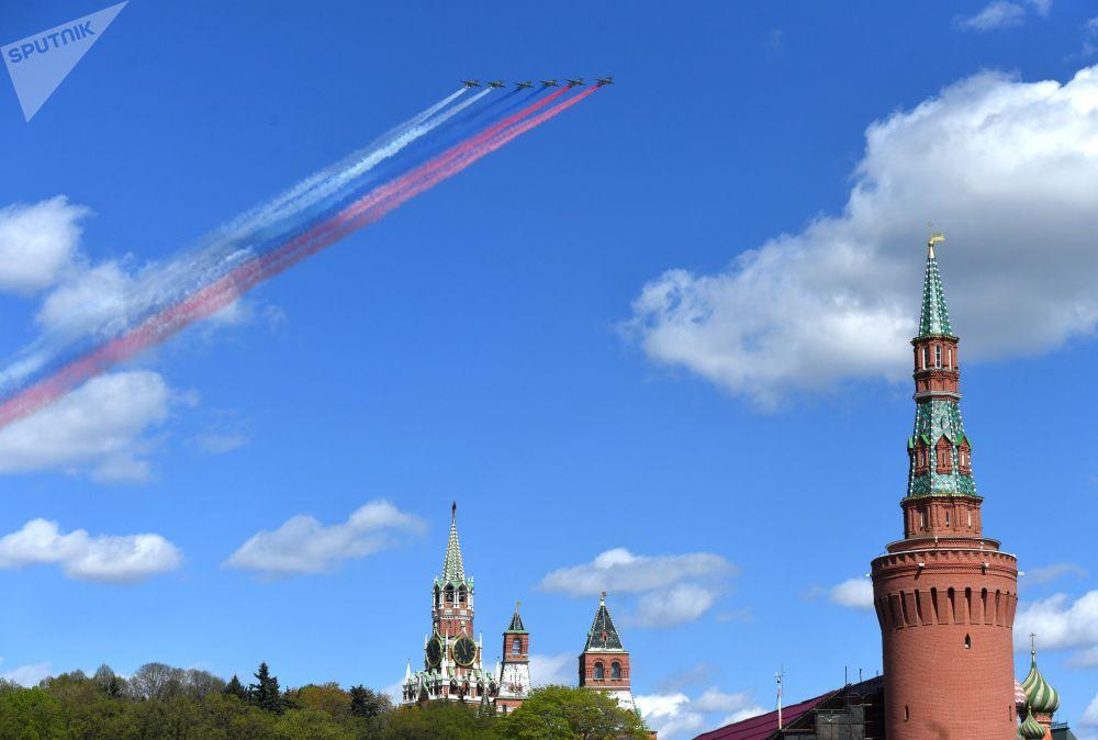 Su-25 nad Placem Czerwonym