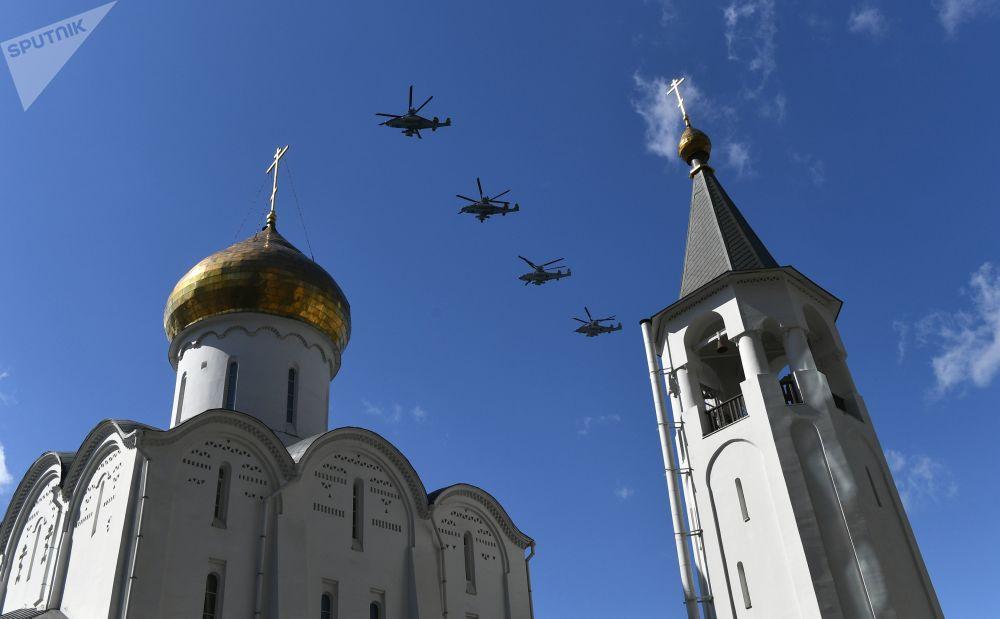 Śmigłowce szturmowe Ka-52