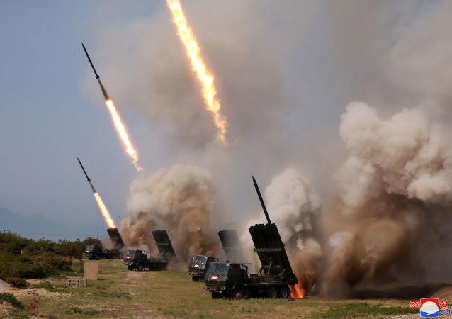 Wystrzelenie niezidentyfikowanych pocisków w KRLD