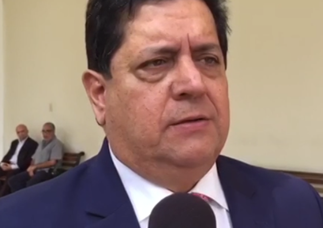 Pierwszy wiceprzewodniczący opozycyjnego parlamentu Wenezueli Edgar Zambrano