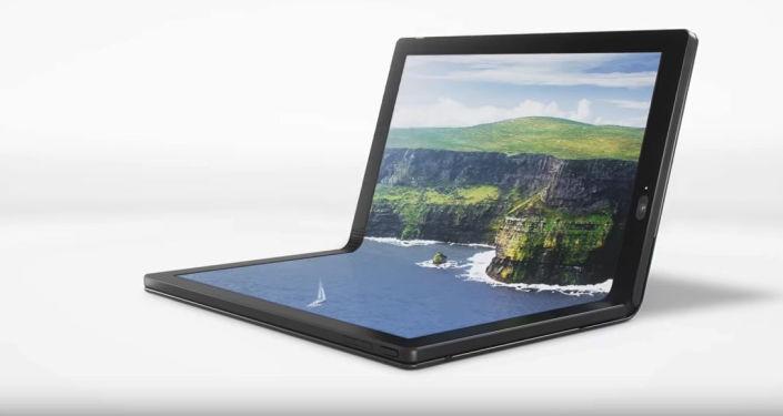 Pierwszy zginający się laptop firmy Lenovo