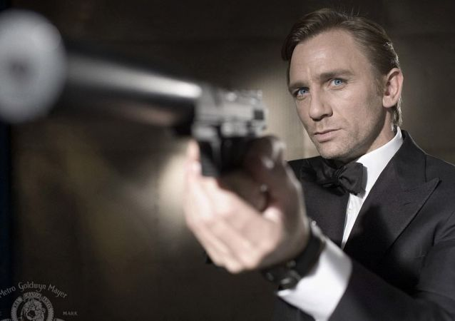 Daniel Craig jako James Bond w Casino Royale