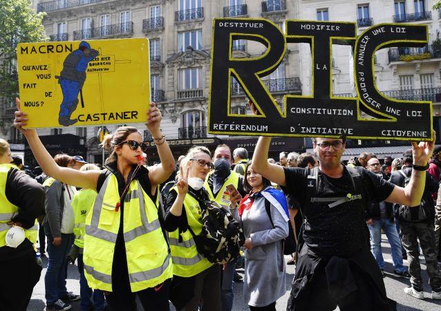 Protesty żółtych kamizelek
