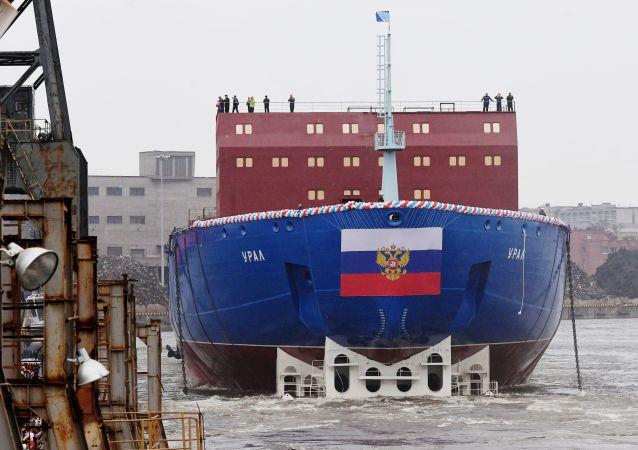 """Nowy seryjny okręt o napędzie atomowym """"Ural"""" projektu 22220"""