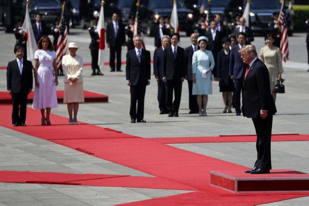Donald Trump w Japonii