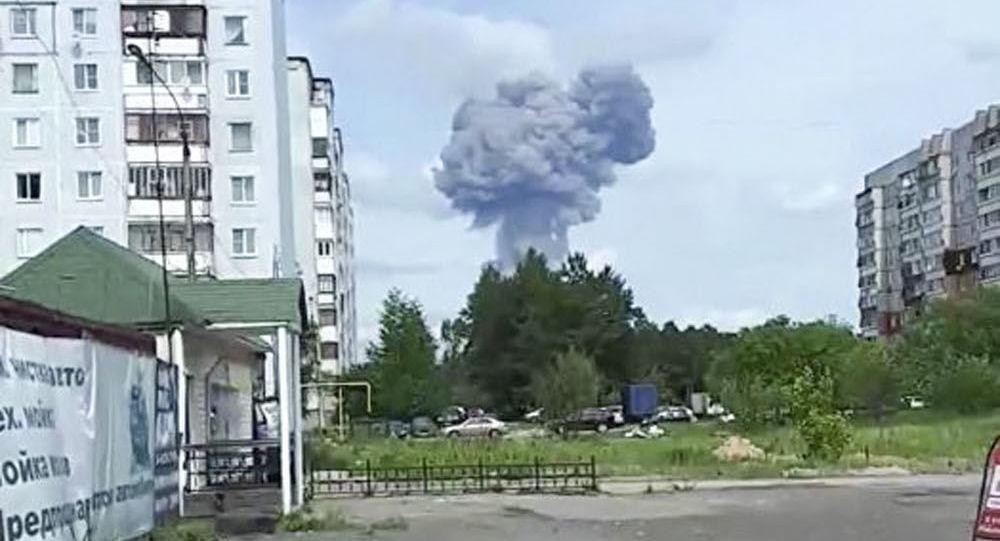 Wybuch w zakładzie zbrojeniowym pod Niżnym Nowogrodem