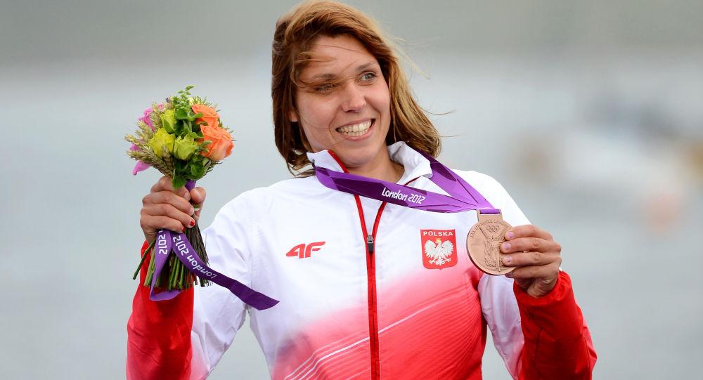 Polska windsurferka, mistrzyni i dwukrotna wicemistrzyni świata Zofia Klepacka
