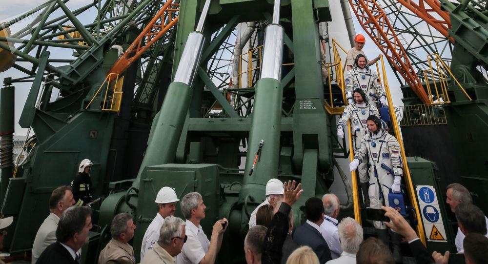 Rakieta na Bajkonurze