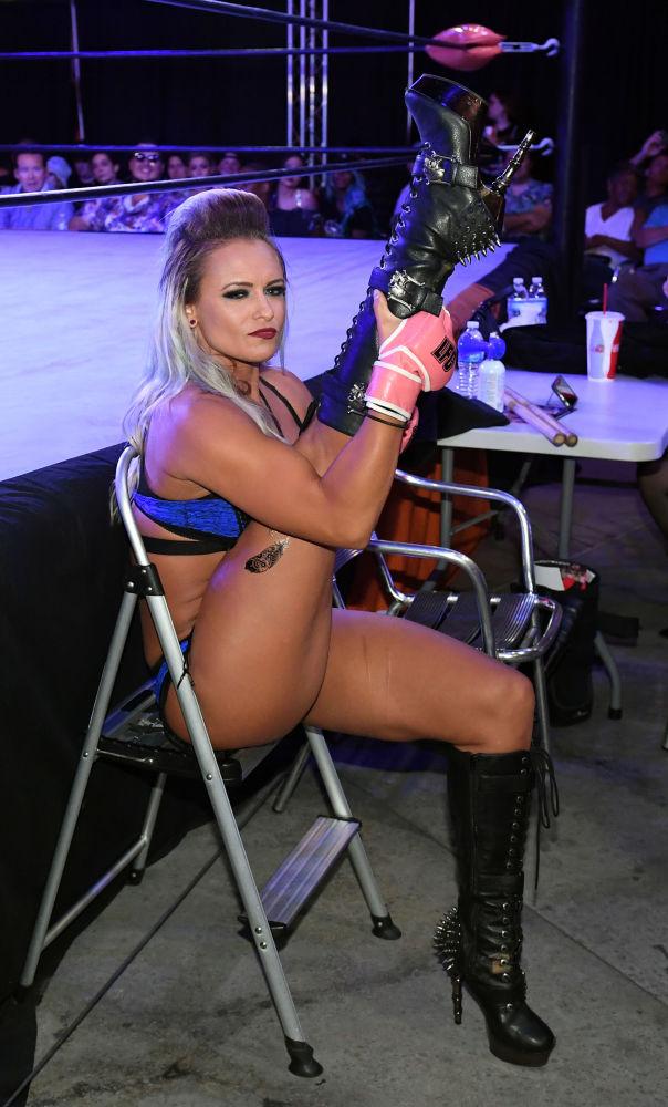 Sexy walki w bieliźnie w Las Vegas