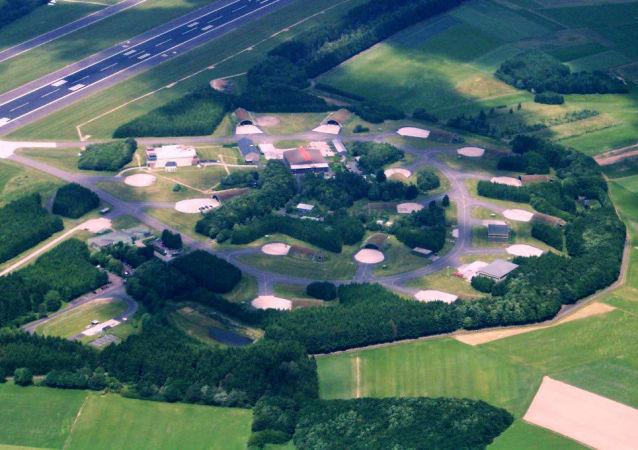 Baza lotnicza w niemieckim mieście Büchel