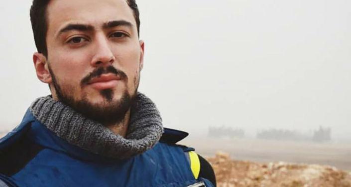 Khaled Alkhabet, korespondent wojskowy, który zginął w ostrzale w Syrii