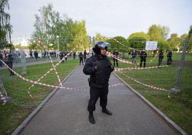 Protesty przeciwko budowie cerkwi w Jekaterynburgu