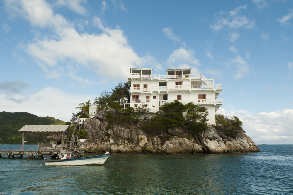 Hotel Dunbar Rock w Hondurasie