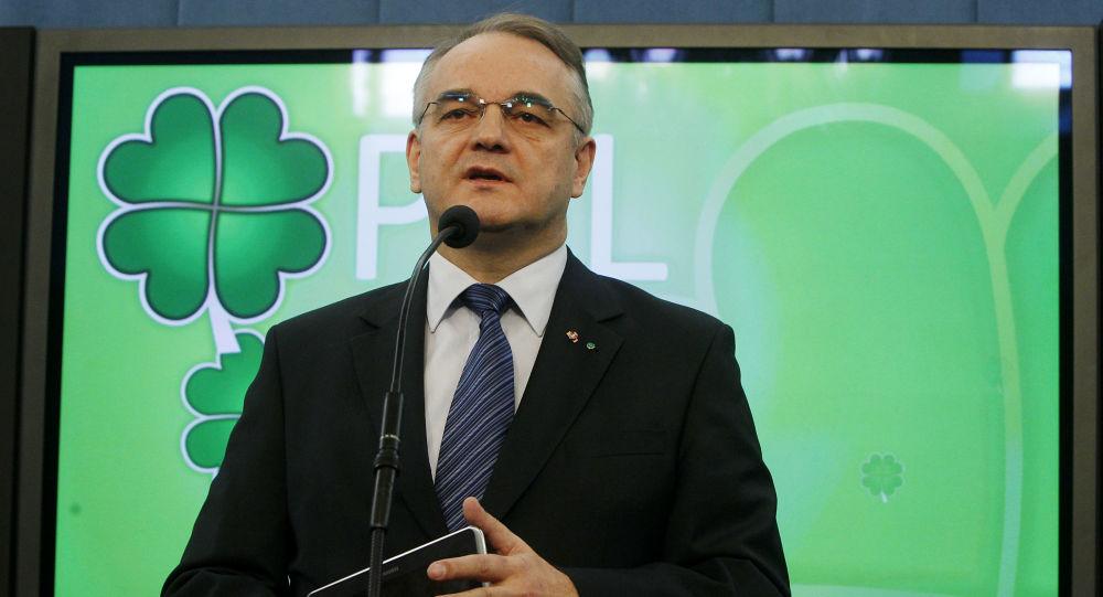 Polski polityk Waldemar Pawlak