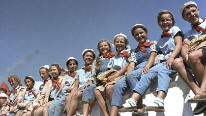 Dzieci w obozie Artek, 1963 rok
