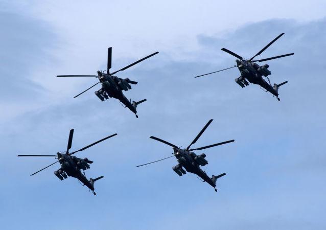 """Śmigłowce szturmowe Mi-28N """"Nocny Łowca"""""""