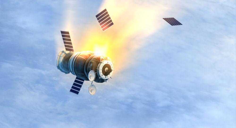 Satelita na orbicie ziemskiej