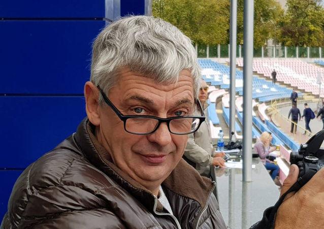 Ukraiński dziennikarz Wadim Komarow