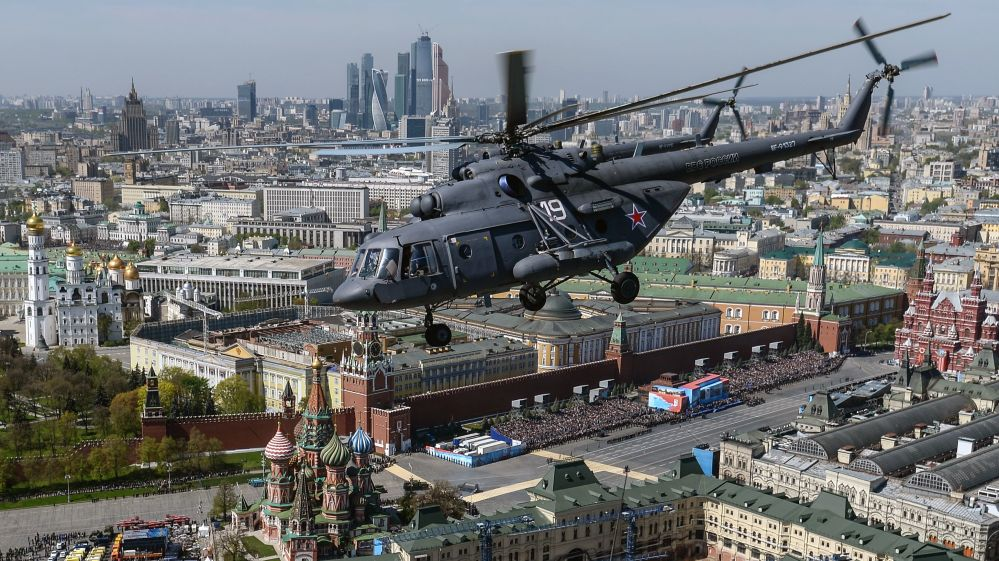 Wielozadaniowy śmigłowiec Mi-8
