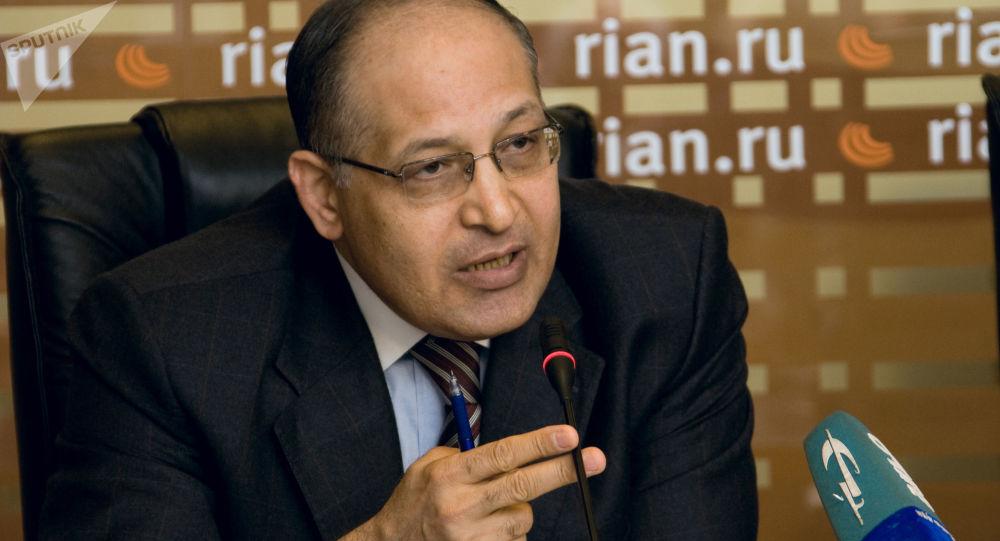 Egipski polityk Izzat Saad