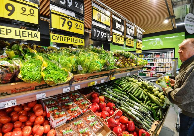 Supermarket w Moskwie