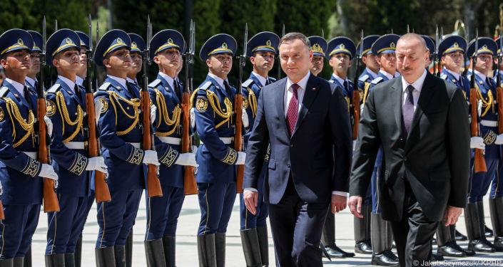 Wizyta prezydenta Polski Andrzeja Dudy w Azerbejdżanie