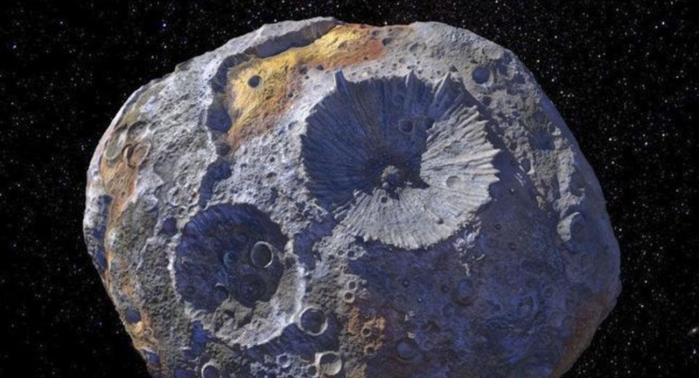 Artystyczny wizerunek asteroidy Psyche