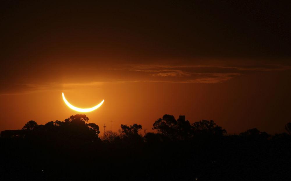 Zaćmienie Słońca 2019 w Argentynie