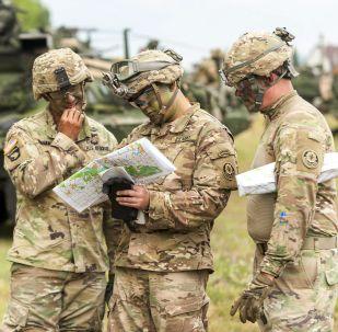 Amerykańscy żołnierze na manewrach Saber Guardian, Rumunia