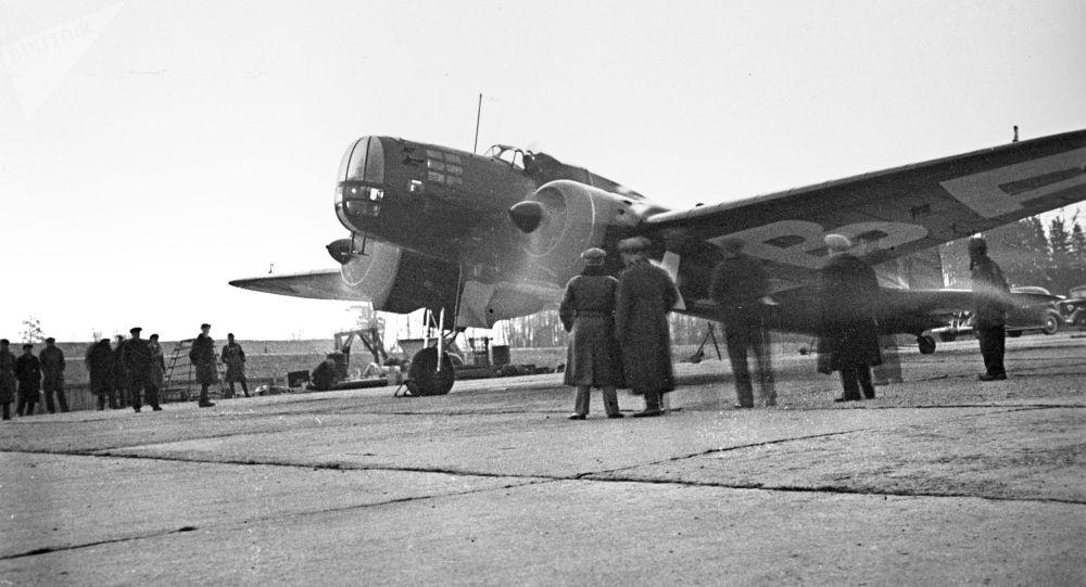 Zmodyfikowany samolot bombowy DB-3