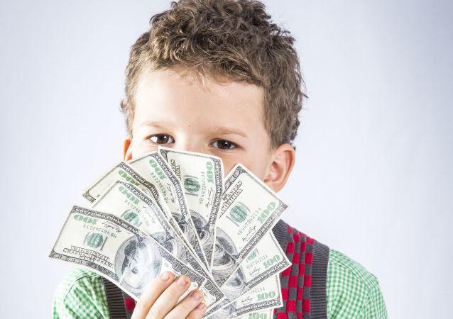 Dziecko i dolary