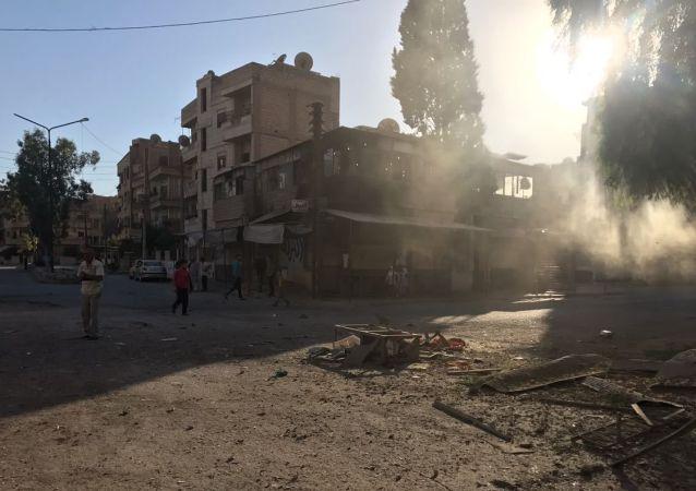 Prowincja Daj az-Zaur na południowym wschodzie Syrii