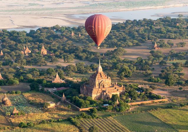 Starożytne miasto Pagan w Mjanmie