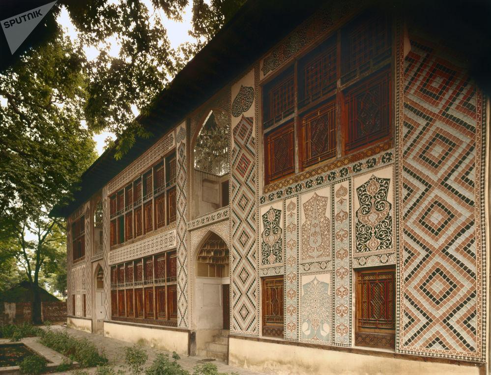 Pałac Chanów Szekijskich w północnym Azerbejdżanie