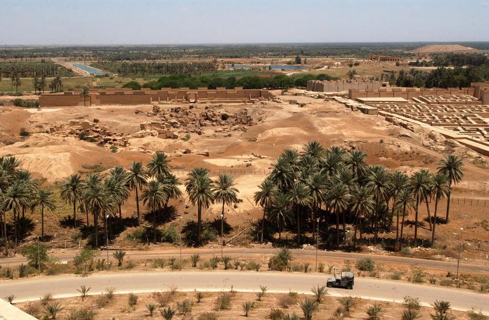 Widok na Babilon