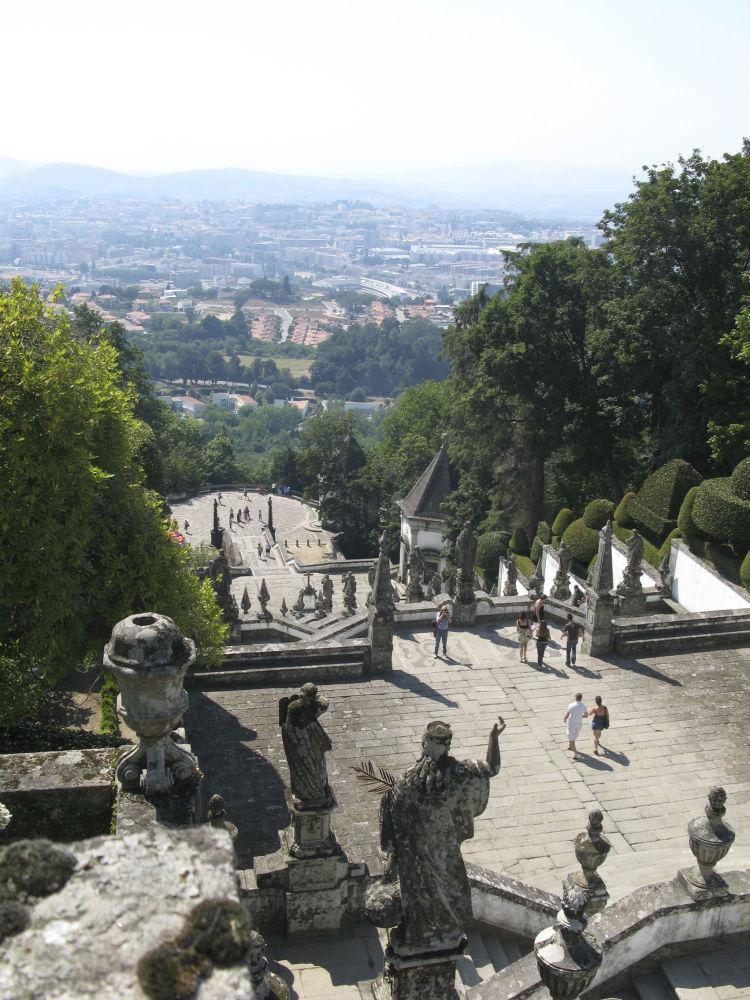 Sanktuarium Bom Jesus do Monte w Portugalii