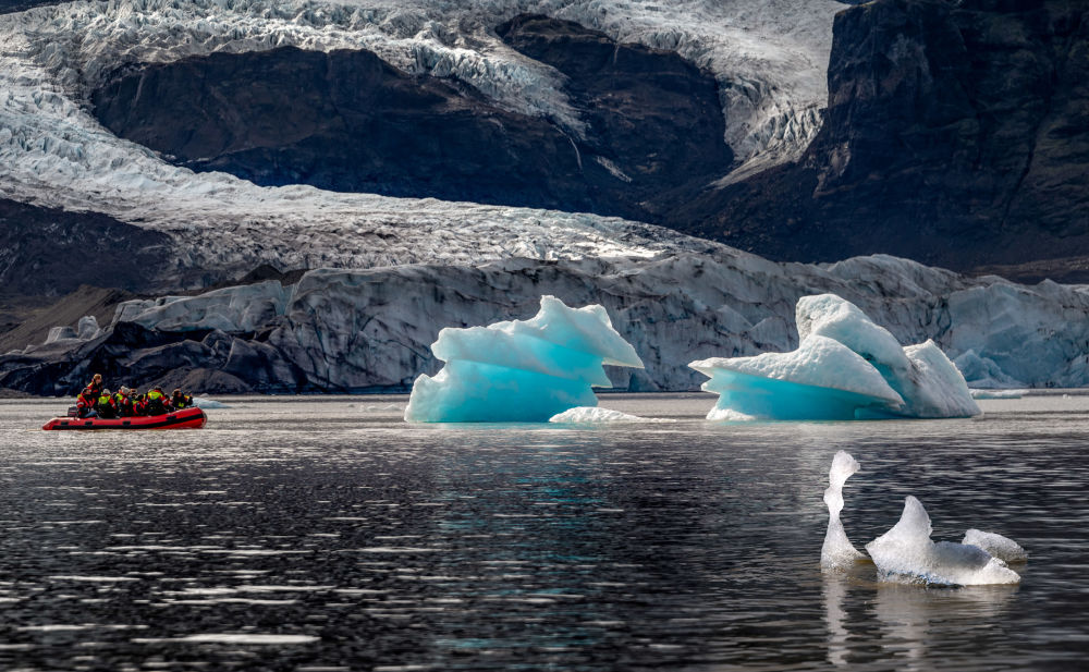Park narodowy Vatnajökull w Islandii