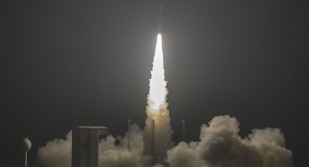 Start rakiety Vega z kosmodromu Kourou w Gujanie Francuskiej