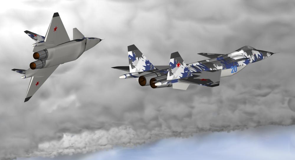 Projekt myśliwca MiG 1.44 piątej generacji