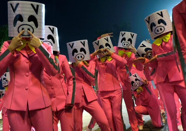 Chiński Nowy Rok w Hongkongu