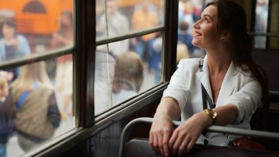 Parada tramwajów zabytkowych w Moskwie