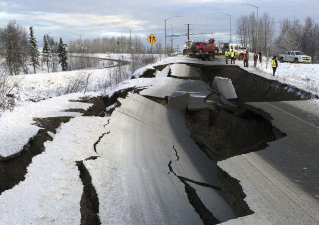 Konsekwencje trzęsienia ziemi na Alasce