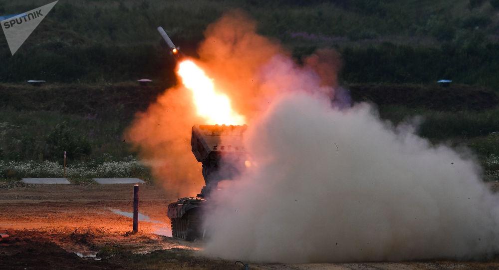 Miotacz ognia TOS-1A