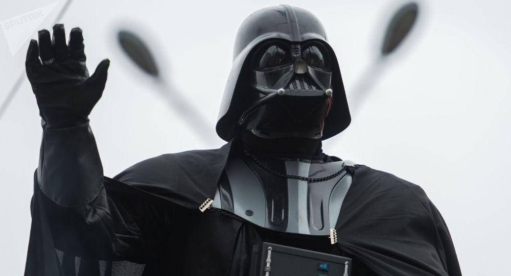 Darth Vader. Zdjęcie archiwalne