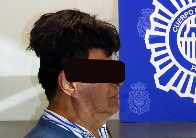 Zatrzymany Hiszpan za przemyt narkotyków pod peruką