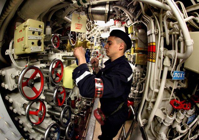 Okręt podwodny od środka