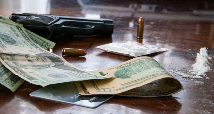 Kokaina, dolary i amunicja