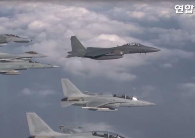 Przechwycenie rosyjskich bombowców przez Koreę Południową