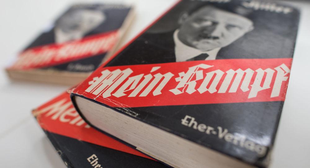 Książka Mein Kampf Adolfa Hitlera